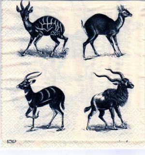Serviette papier chamois 33 cm X 33 cm 3 plis