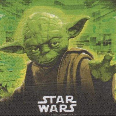 Serviette Star Wars le film de 33 cm X 33 cm 2 plis