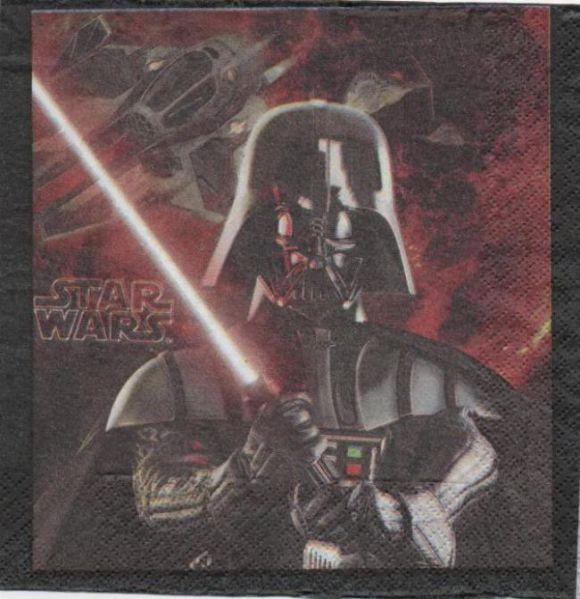 Serviette Star Wars Yoda de 33 cm X 33 cm 2 plis