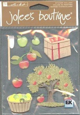 Stickers 3D automne et fruits
