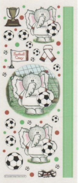 Stickers Eléphants et ballon