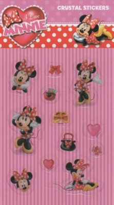 Stickers Minnie crystal