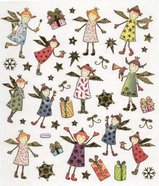 Stickers Noël et anges