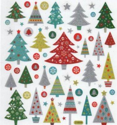 Stickers Noël et sapins