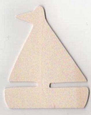 Support bois Bateau en bois 80 mm x 65 mm