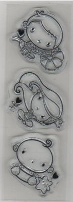 Tampons transparents bébés lot de 3 pièces