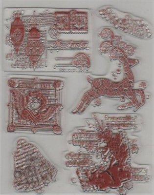 Tampons transparents cerf