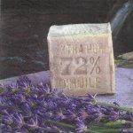 Serviette papier Provence et fleurs  33 cm X 33 cm 3 plis