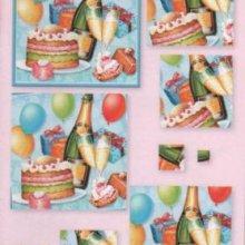 Livre 15 mini 3D à découper anniversaire