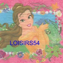 Serviette papier 2 princesses