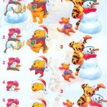 Feuilles à découper 3D Winnie