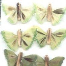 Sachet de 6 papillons 2 cm