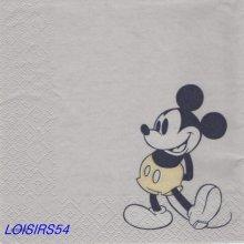 Serviette papier Mickey 1929 - 33 cm x 33 cm