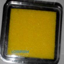 Encreur jaune 25 mm pour décoration de cartes