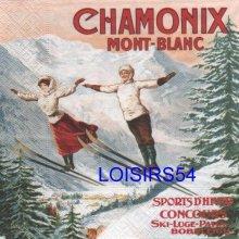 Serviette papier Chamonix