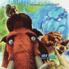 Serviette papier Age de glace 3 - 25 cm X 25 cm 2 plis
