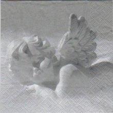 Serviette papier Ange de 25 cm X 25 cm 3 plis