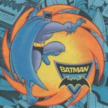 Serviette papier Batman 33 cm X 33 cm 3 plis