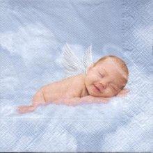 Serviette papier Bébé ange 33 cm X 33 cm 3 plis