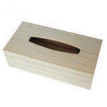 Boite a mouchoirs en bois 275 mm X 140 mm X 45 mm