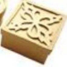 Boite carton papier mâché carré