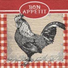 Serviette papier Bon Appétit 33 cm X 33 cm 3 plis