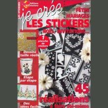 Livre Je crée les stickers Noël, Invitations, Fêtes, Mariage