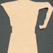 Cafetiere MDF 140 mm x 50 mm