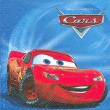 Serviette papier motif Cars et Ramone 33 cm X 33 cm 3 plis