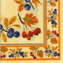 Serviette papier cerises 40 cm X 40 cm 3 plis