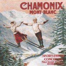 Serviette papier Chamonix 33 cm X 33 cm 3 plis