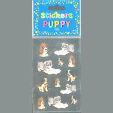 Stickers 3 D chiots Pupy