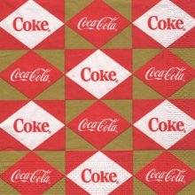 Serviette papier Coca Cola The coke
