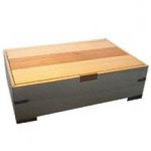 Boîte à bijoux en bois 155 mm x 45 mm x 105 mm