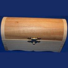 Coffret bois 145 mm x 60 mm x 80 mm