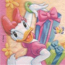 Serviette papier Daisy de 33 cm X 33 cm 3 plis