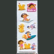 Stickers 3D Dora