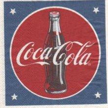 Serviette papier Drink Coca Cola 25 cm x 25 cm