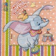 Serviette papier Dumbo 33 cm X 33 cm 2 plis