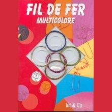 Livre Fil de fer multicolore