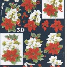 Feuilles 3D fleurs des iles