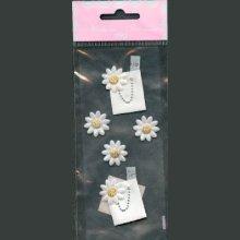 Stickers 3D fleurs et sac à main