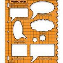 Gabarit de forme ShapeTemplate Fiskars bulles de B D