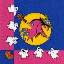 Serviette papier Halloween et fantomes 33 cm X 33 cm 3 plis