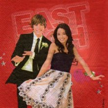 Serviette papier High School Musical 3