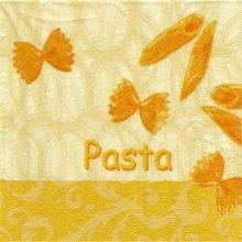Serviette papier Italie et Pasta 33 cm X 33 cm 3 plis