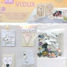 Kit 92 pieces pour cartes scrap