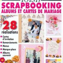 Livre MAGIC LOISIR Scrapbooking Albums et cartes de mariage
