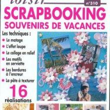 Livre MAGIC LOISIR Scrapbooking souvenirs de vacances