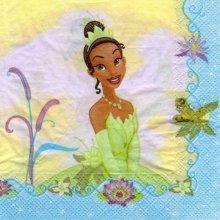 Serviette papier La princesse et la grenouille